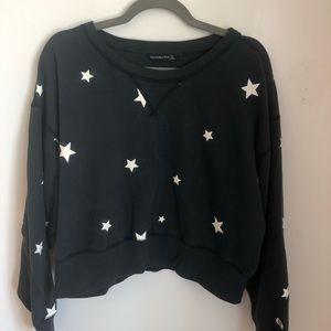 Abercrombie Cropped Star Sweatshirt
